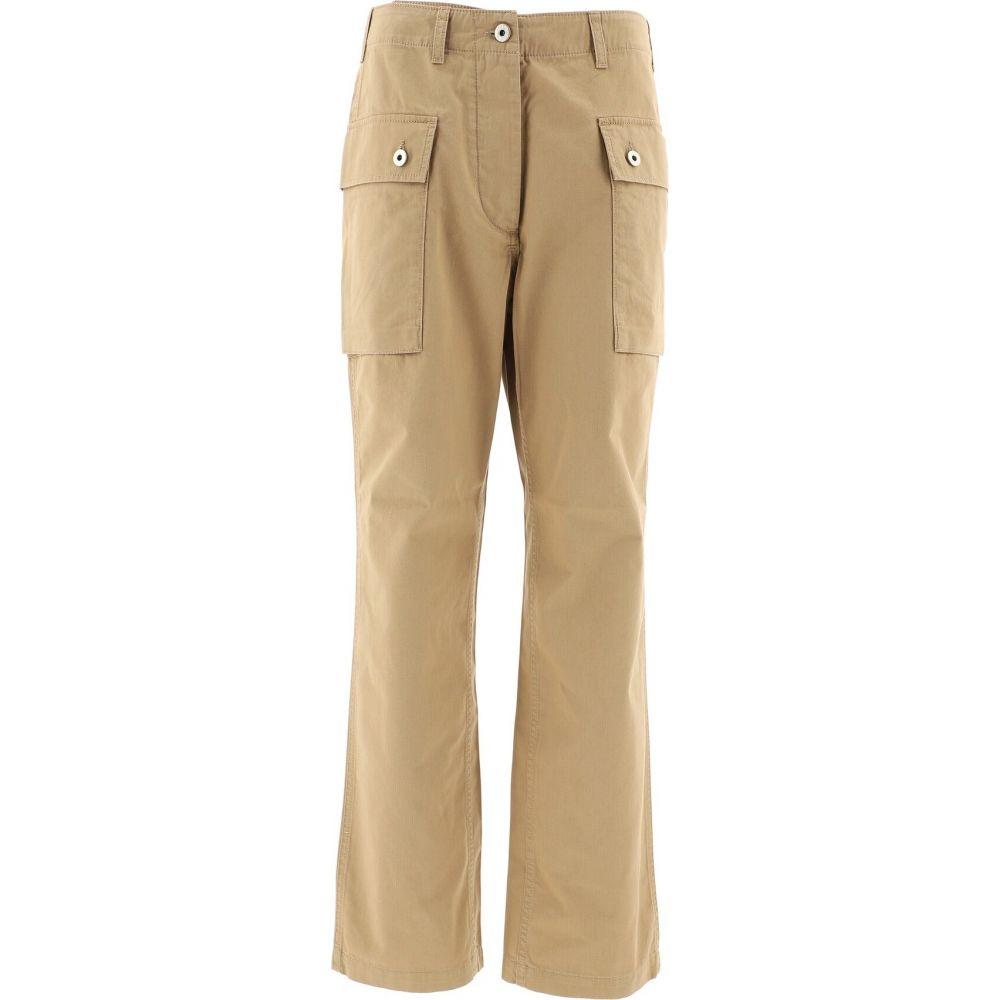 ロエベ Loewe レディース カーゴパンツ ボトムス・パンツ【Cargo Pants With Buttons】Beige