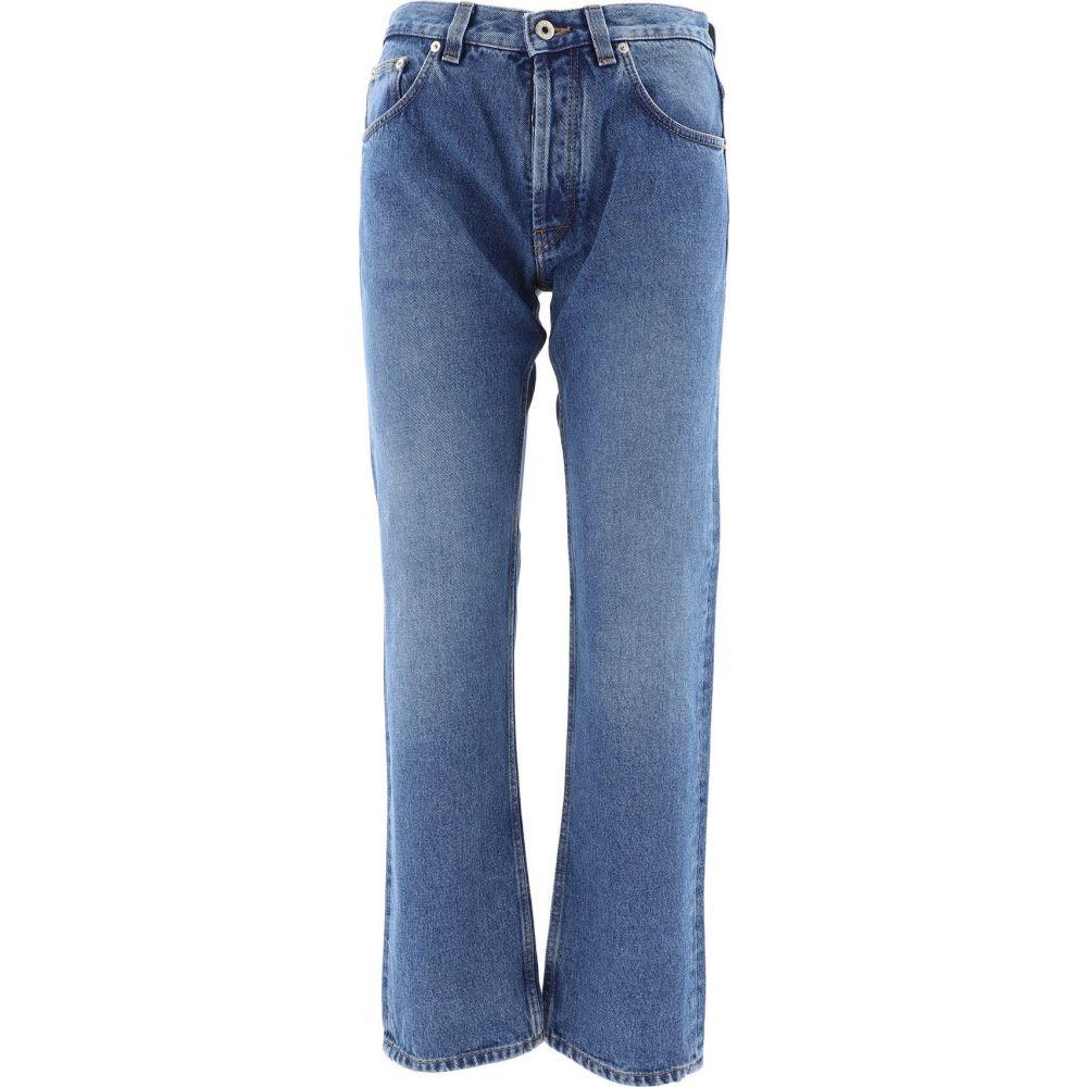 ロエベ Loewe レディース ジーンズ・デニム ボトムス・パンツ【Denim Pants With Embroidery】Blue