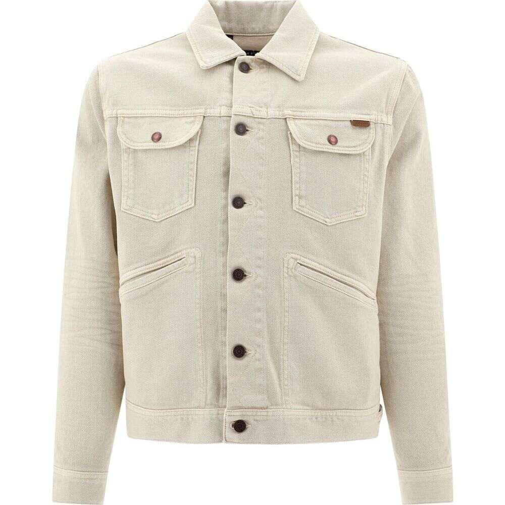 トム フォード Tom Ford メンズ ジャケット Gジャン アウター【Denim Jacket With Pockets】Beige