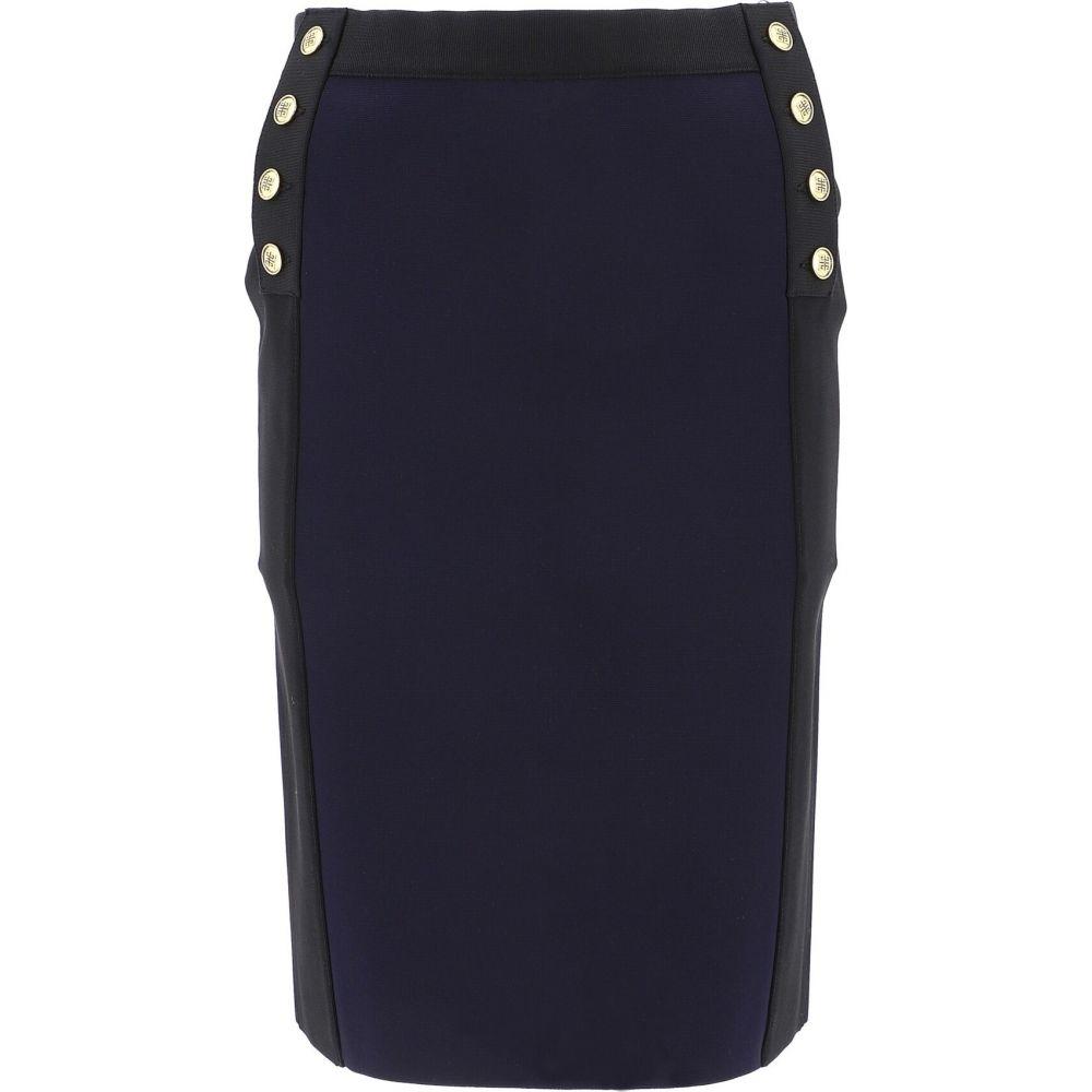 ジバンシー Givenchy レディース ひざ丈スカート ペンシルスカート スカート【Pencil Skirt With Gold Buttons】Blue