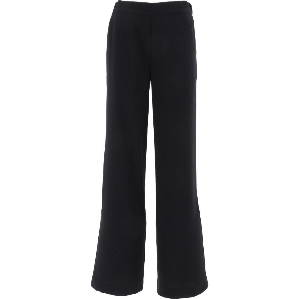 パロッシュ P.A.R.O.S.H. レディース ボトムス・パンツ 【Stretch trousers with pockets】Black