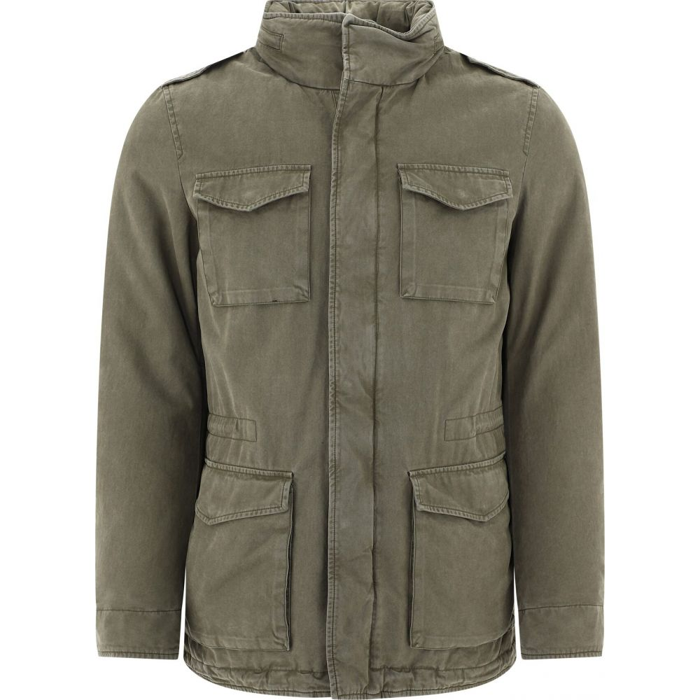 ヘルノ Herno メンズ ダウン・中綿ジャケット ミリタリージャケット アウター【Padded Military Jacket】Green