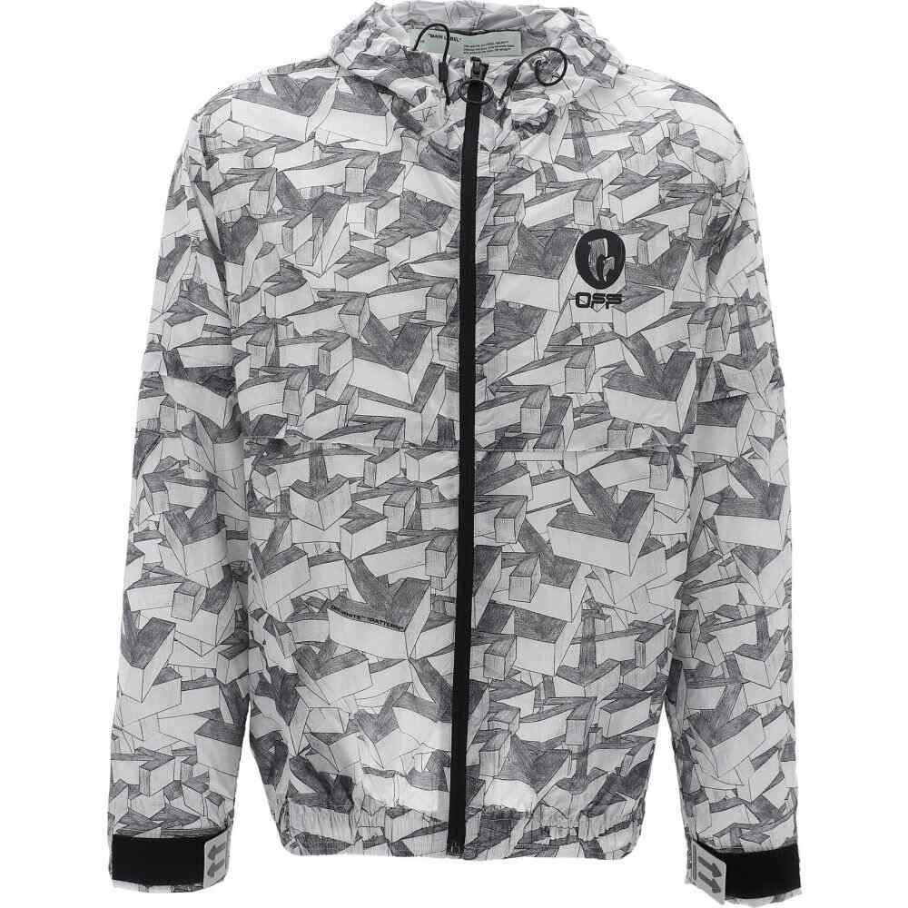 オフホワイト Off-White c/o Virgil Abloh メンズ ジャケット アウター【Jacket With Geometric Pattern】Gray