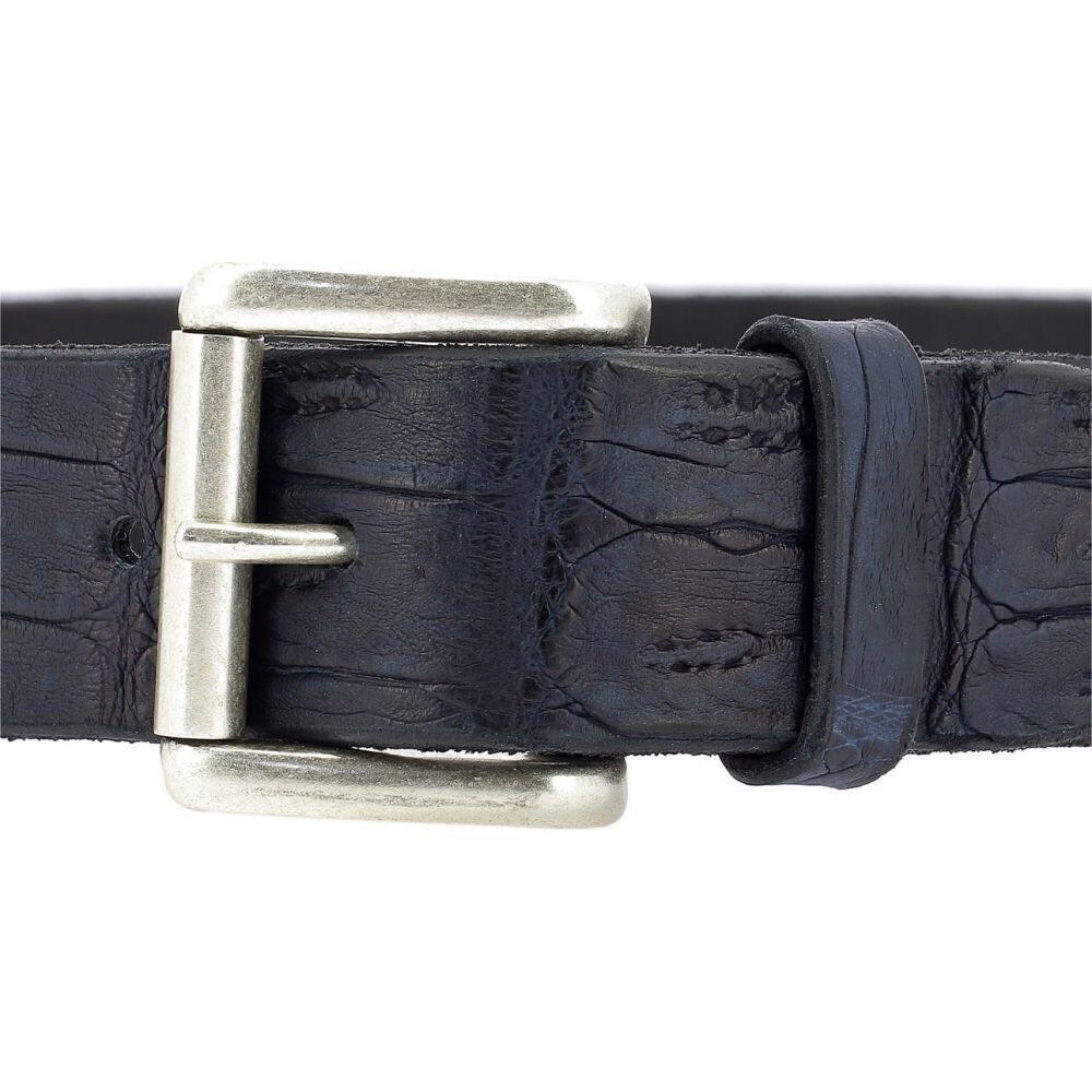 オルチアーニ Orciani メンズ ベルト 【Crocodile Belt】Blue
