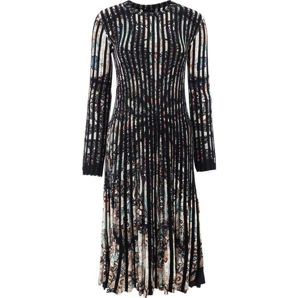 エトロ Etro レディース ワンピース ワンピース・ドレス【Jacquard Knit Dress】Black