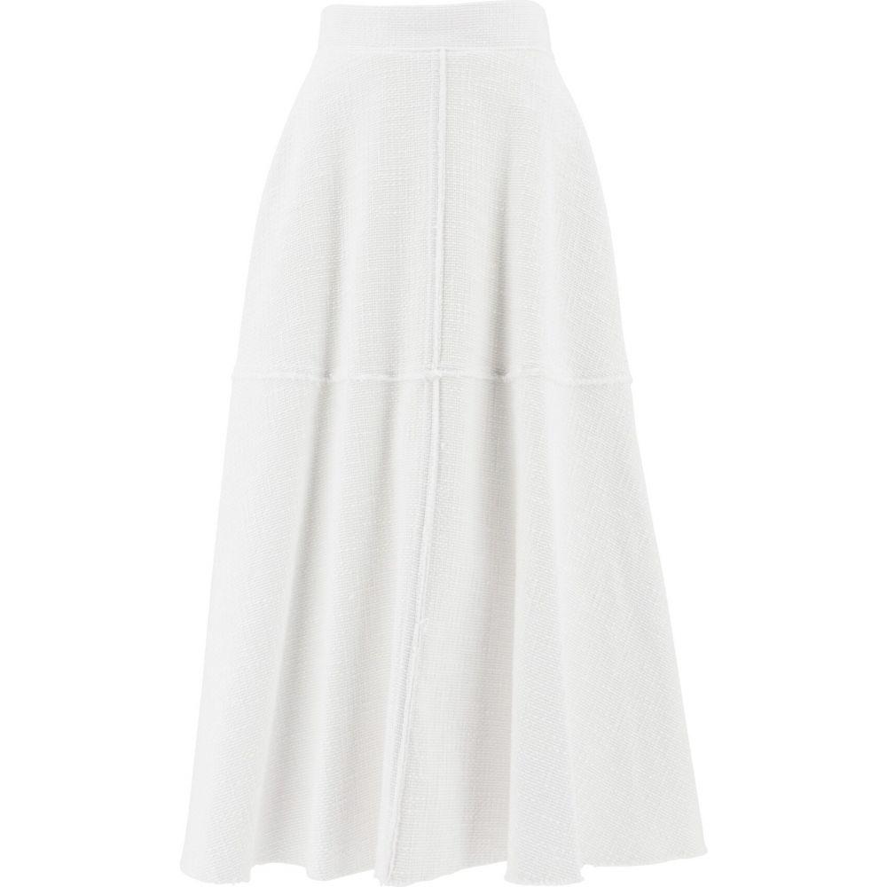 フェデリカ Federica Tosi レディース スカート 【Flared Skirt With Pockets】White