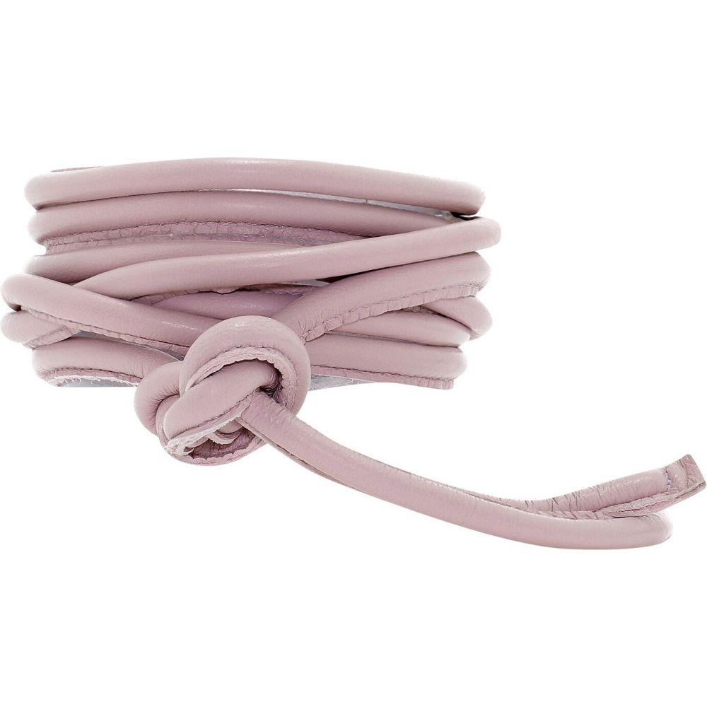 ジャンニ Giani レディース ベルト 【Leather Belt】Pink