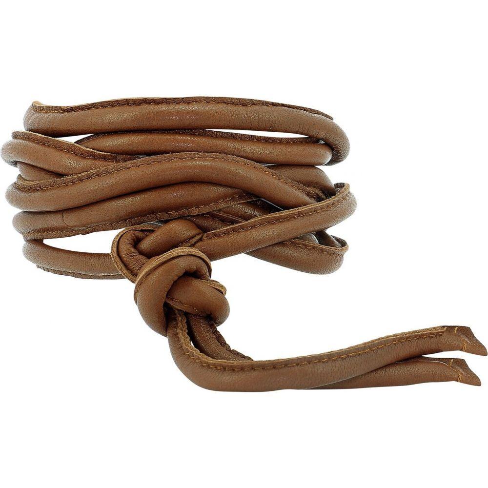 ジャンニ Giani レディース ベルト 【Leather Belt】Brown