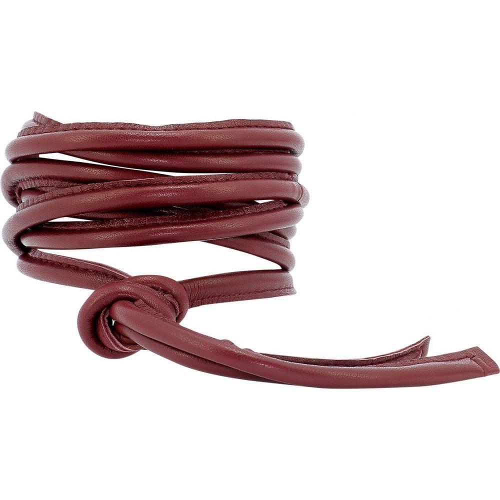 ジャンニ Giani レディース ベルト 【Leather Belt】Bordeaux