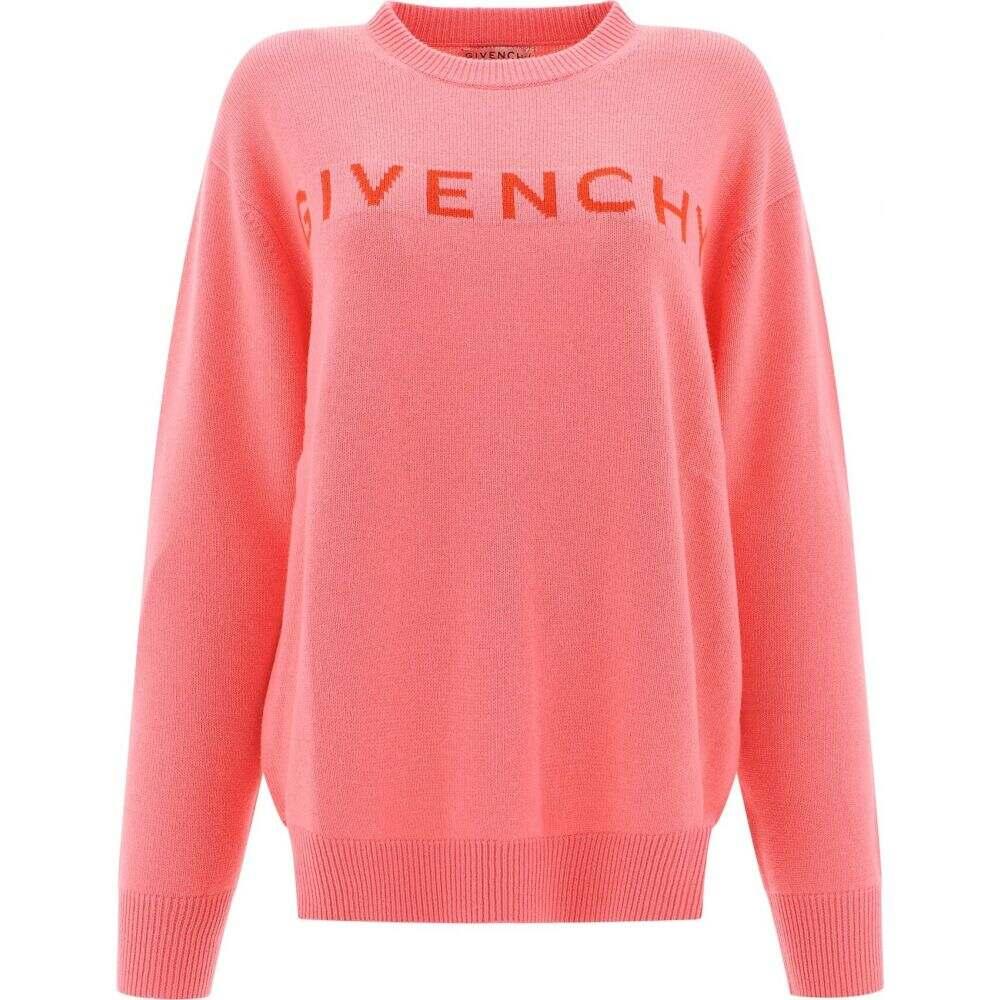 ジバンシー Givenchy レディース ニット・セーター トップス【Cashmere Sweater With Embroidery】Pink