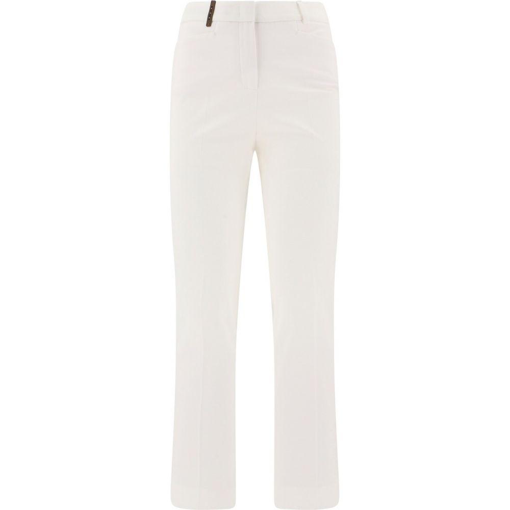 プレセリコ Peserico レディース ボトムス・パンツ 【Pants With Insert】White