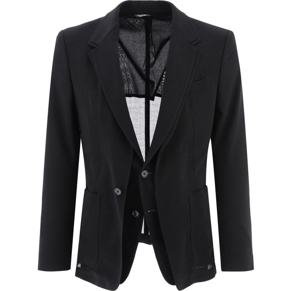 若者の大愛商品 ドルチェ&ガッバーナ Dolce & メンズ Gabbana & メンズ スーツ・ジャケット アウター Wool【Double-Breasted Wool Blazer】Black, 家具インテリア通販 アットカグ:93c609d3 --- verandasvanhout.nl