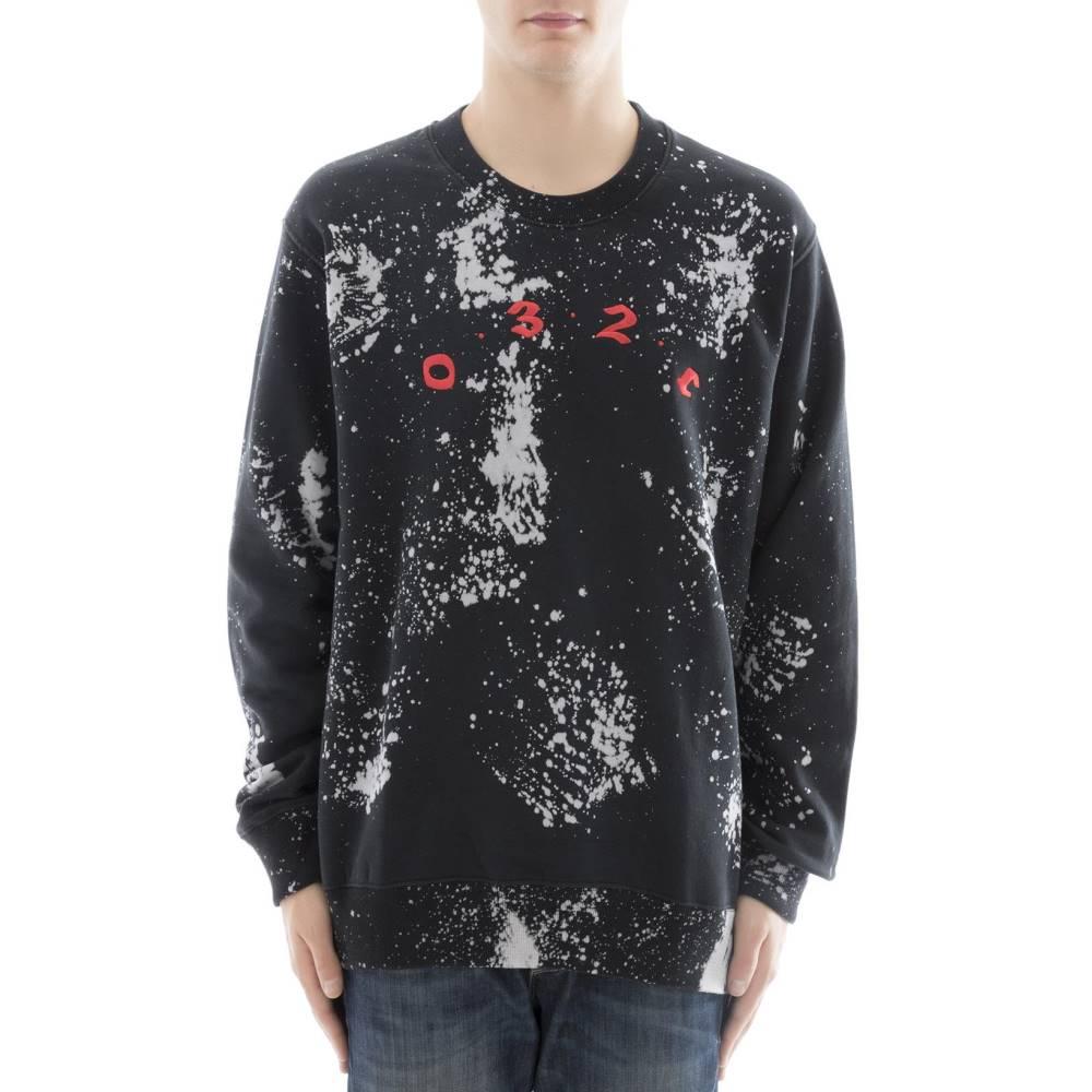 032c メンズ トップス スウェット・トレーナー【Black cotton sweater】Black