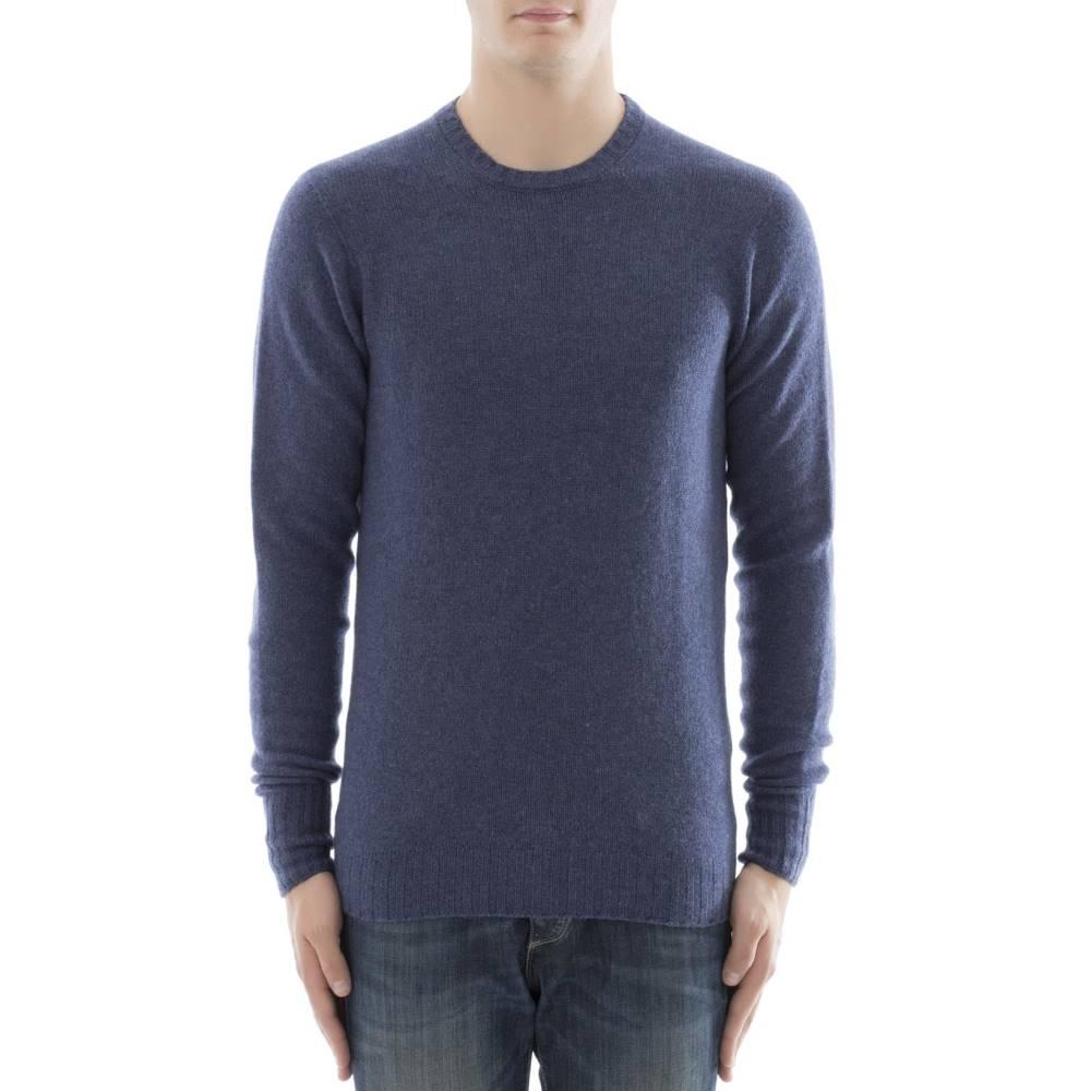ドルモア メンズ トップス スウェット・トレーナー【Blue cachemire sweatshirt】Blue