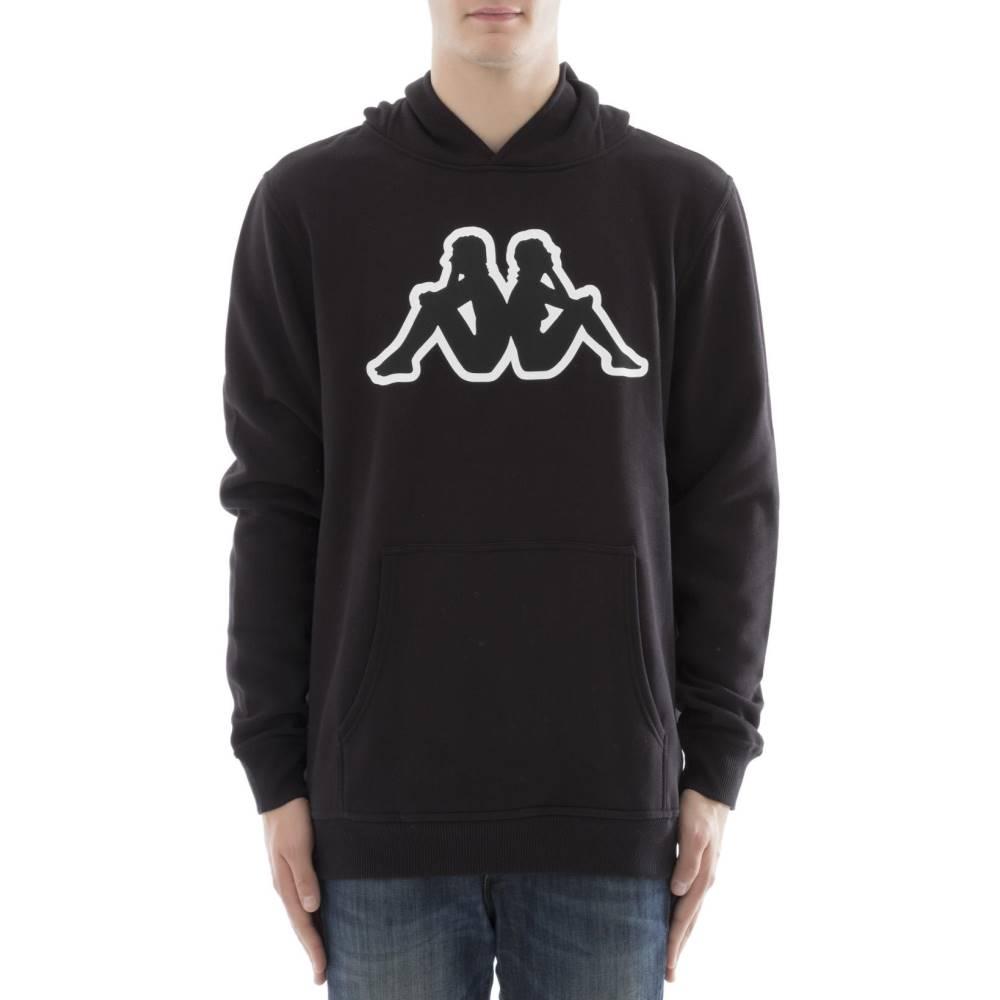 カッパ メンズ トップス スウェット・トレーナー【Black cotton sweater】Black