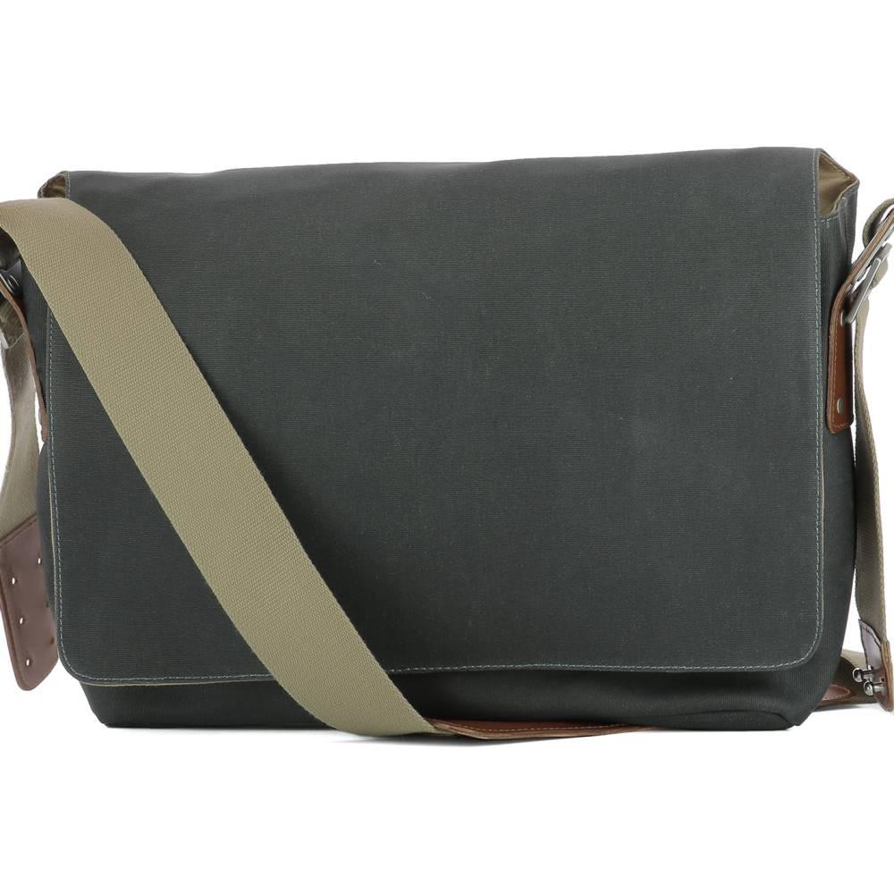 ブルックス メンズ バッグ ショルダーバッグ【Grey fabric shoulder bag】Grey