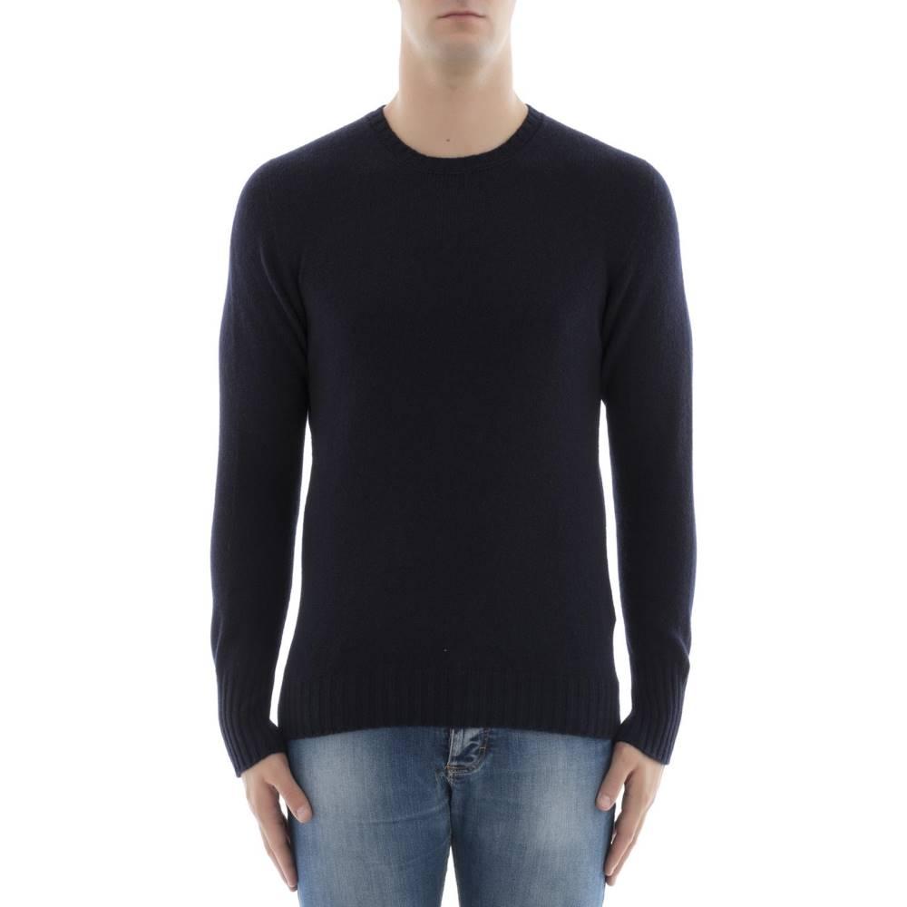 ドルモア メンズ トップス スウェット・トレーナー【Blue wool sweatshirt】Blue