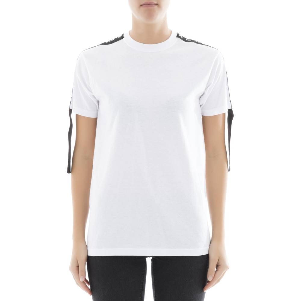フォルテクチュール レディース トップス Tシャツ【White cotton t-shirt】White