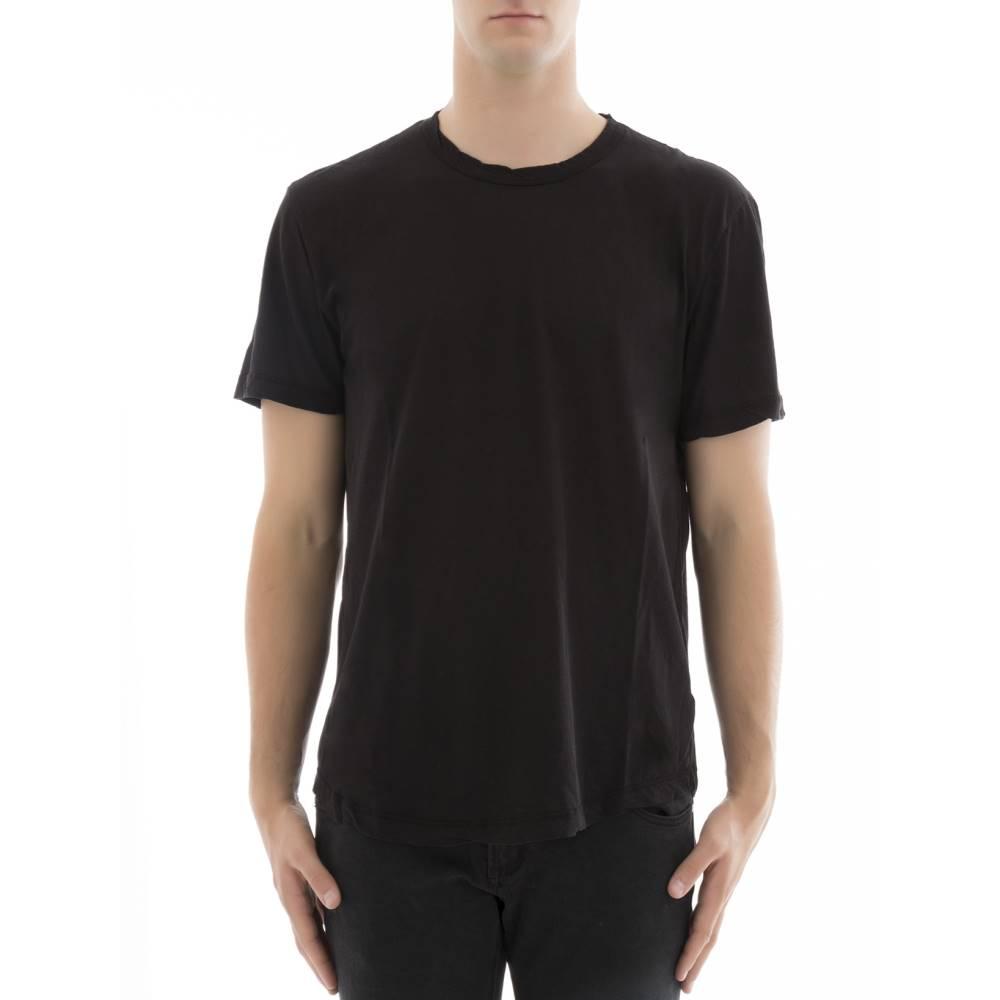 ジェームス パース メンズ トップス Tシャツ【Black cotton t-shirt】Black