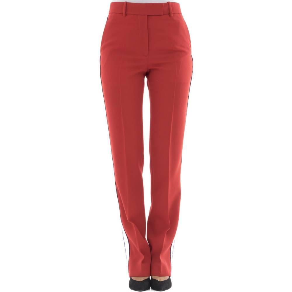 カルバンクライン レディース ボトムス・パンツ【Red wool pants】Red
