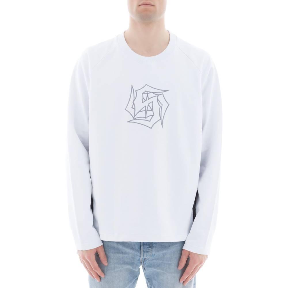 サーバー メンズ トップス【White cotton sweater】White