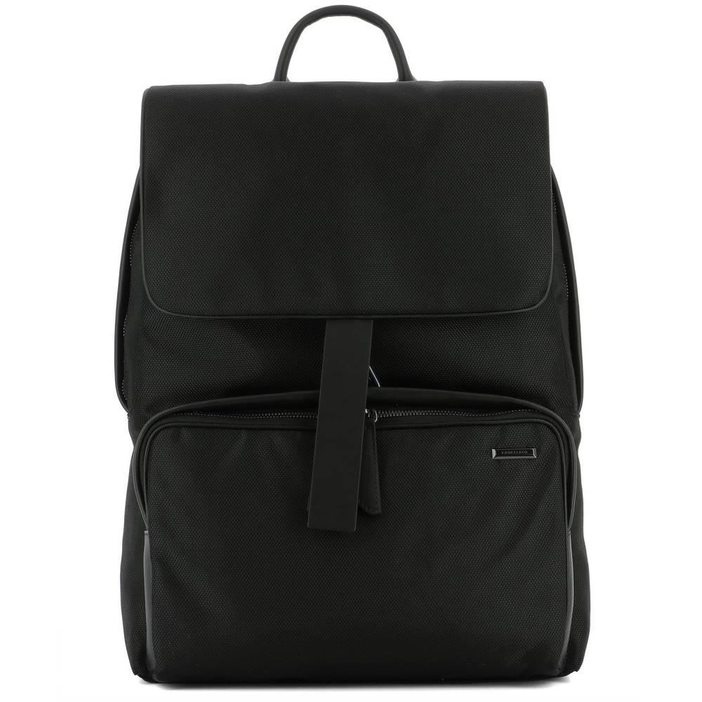 ザネラート レディース バッグ バックパック・リュック【Black fabric backpack】Black