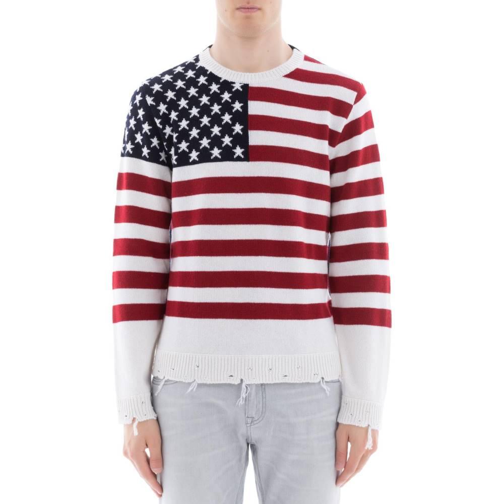 ヴァレンティノ メンズ トップス スウェット・トレーナー【Multicolor cachemire sweatshirt】Multicolor