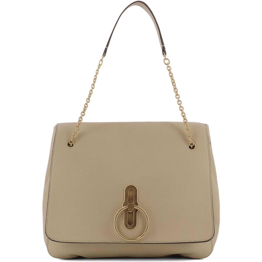 マルベリー レディース バッグ ショルダーバッグ【Beige leather shoulder bag】Beige