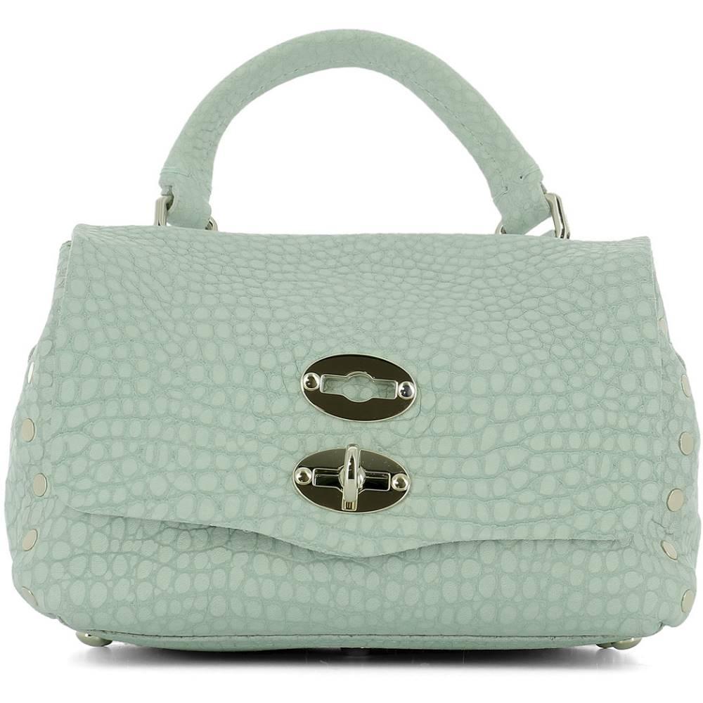 ザネラート バッグ レディース バッグ ハンドバッグ【Light ザネラート blue leather bag】Light handle bag】Light blue, Auto KU:aca39806 --- sunward.msk.ru