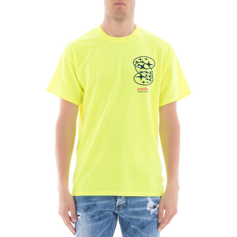 ユナイテッド スタンダード メンズ トップス Tシャツ【Yellow cotton