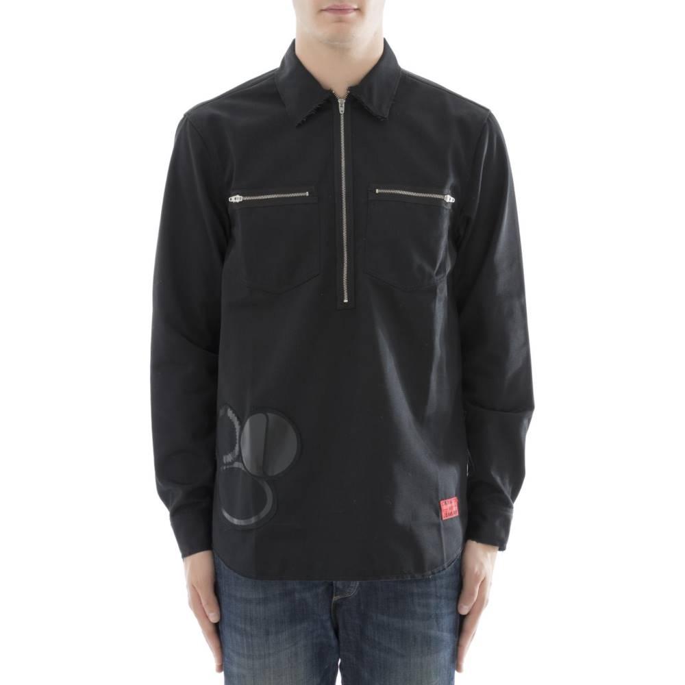 カーハート メンズ トップス シャツ【Black polyester shirt】Black