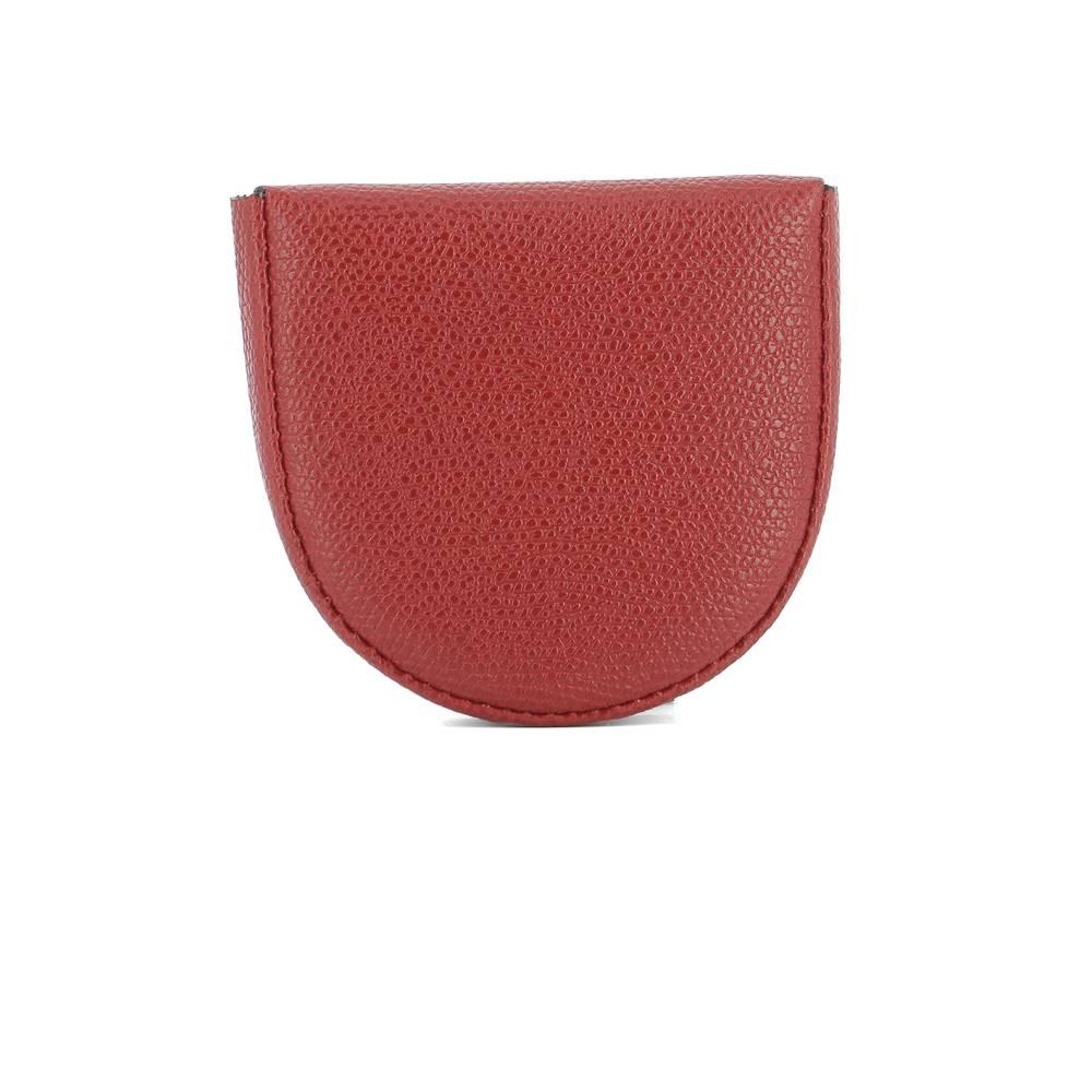 ヴァレクストラ レディース 財布【Red leather coin purse】Red