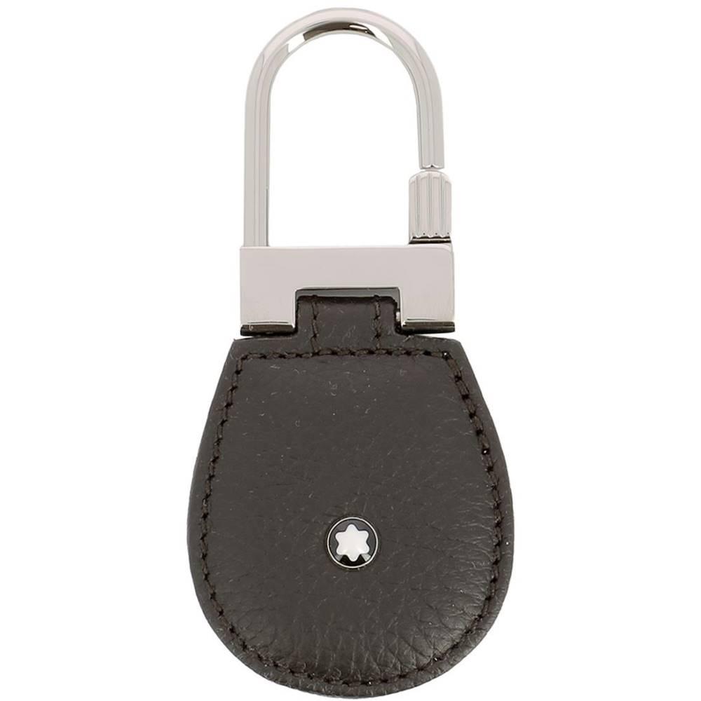 モンブラン メンズ キーホルダー【Brown leather key holder】Brown