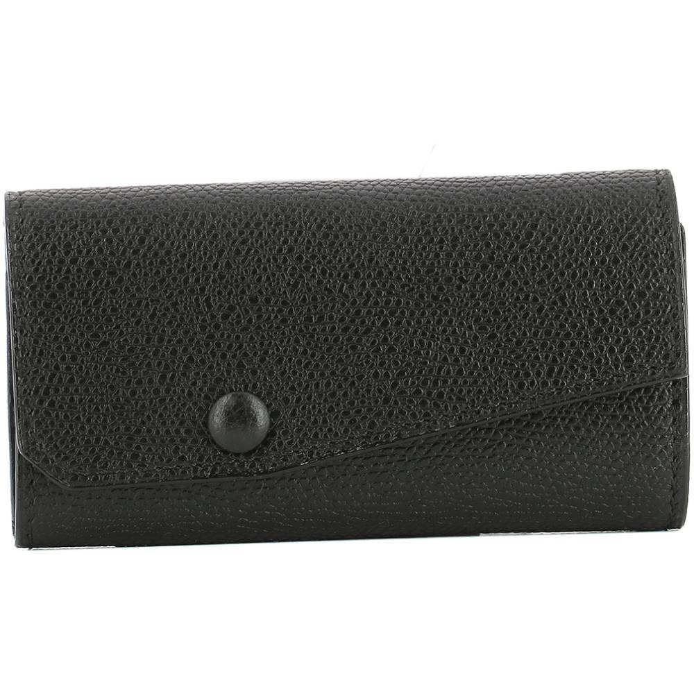 ヴァレクストラ レディース キーホルダー【Black leather key holder】Black