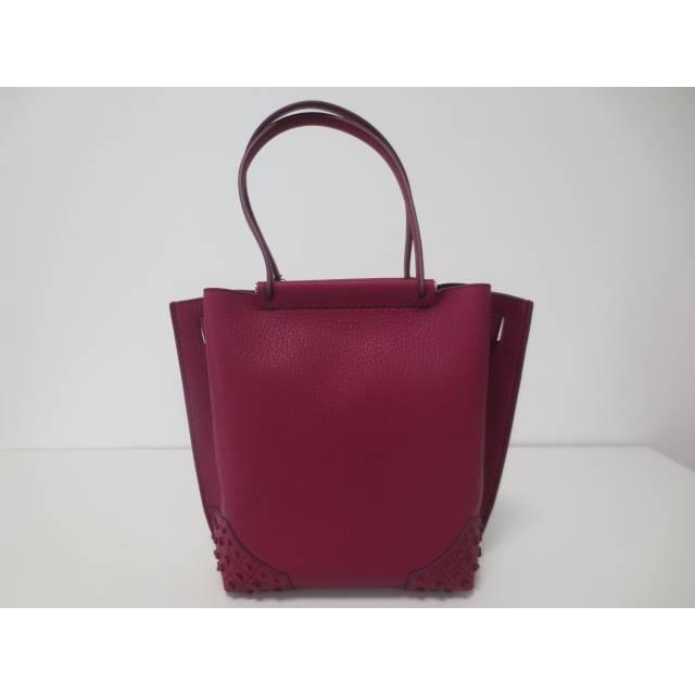 トッズ レディース バッグ ハンドバッグ【Bordeaux handle bag】