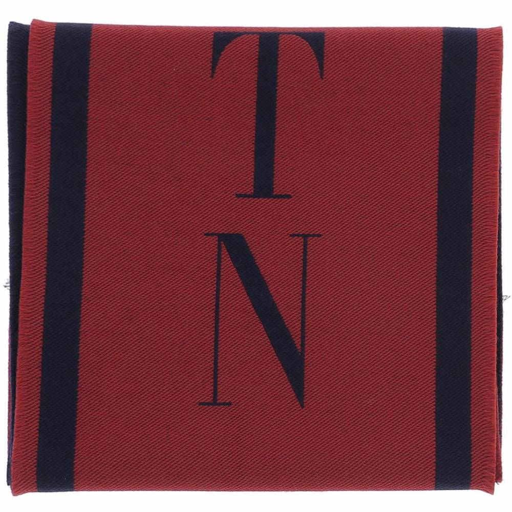 ヴァレンティノ メンズ マフラー・スカーフ・ストール【Red wool scarf】Red