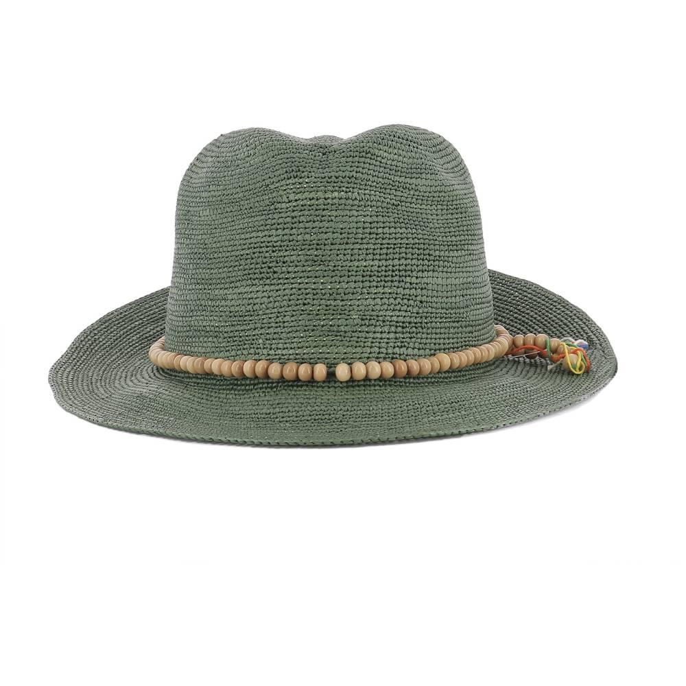 センシ スタジオ レディース 帽子 ハット【Panama】Green