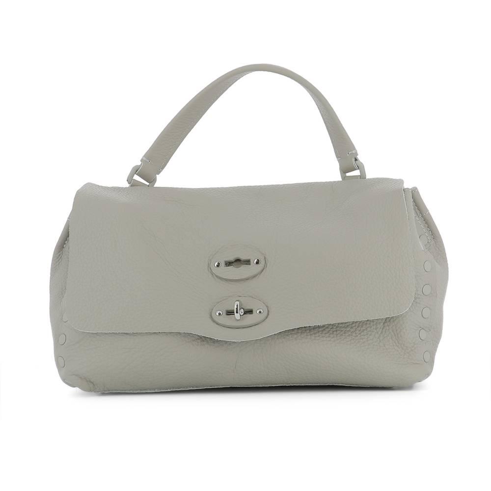 ザネラート レディース バッグ ハンドバッグ【Light grey bag】Grey grey レディース leather handle bag】Grey, 岡谷市:ae8ff2ef --- sunward.msk.ru
