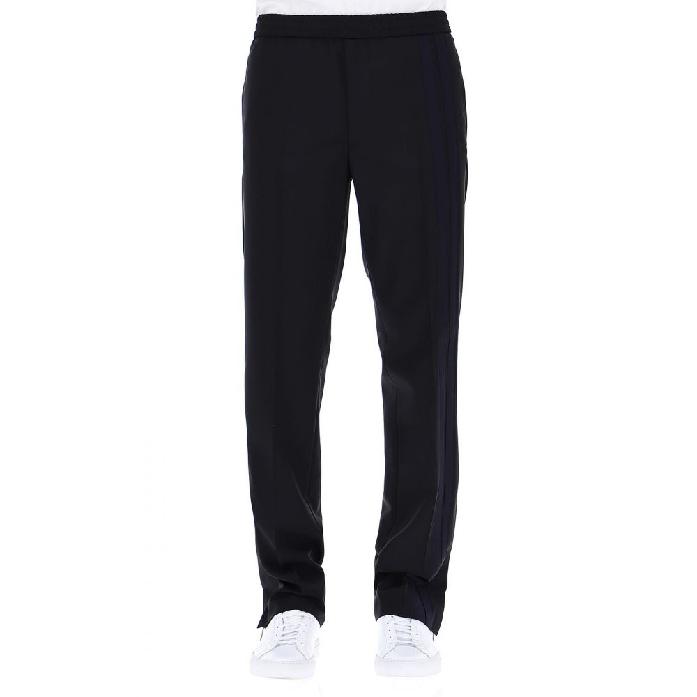 ヴァレンティノ Valentino メンズ ボトムス・パンツ スラックス【Black wool pants】Black