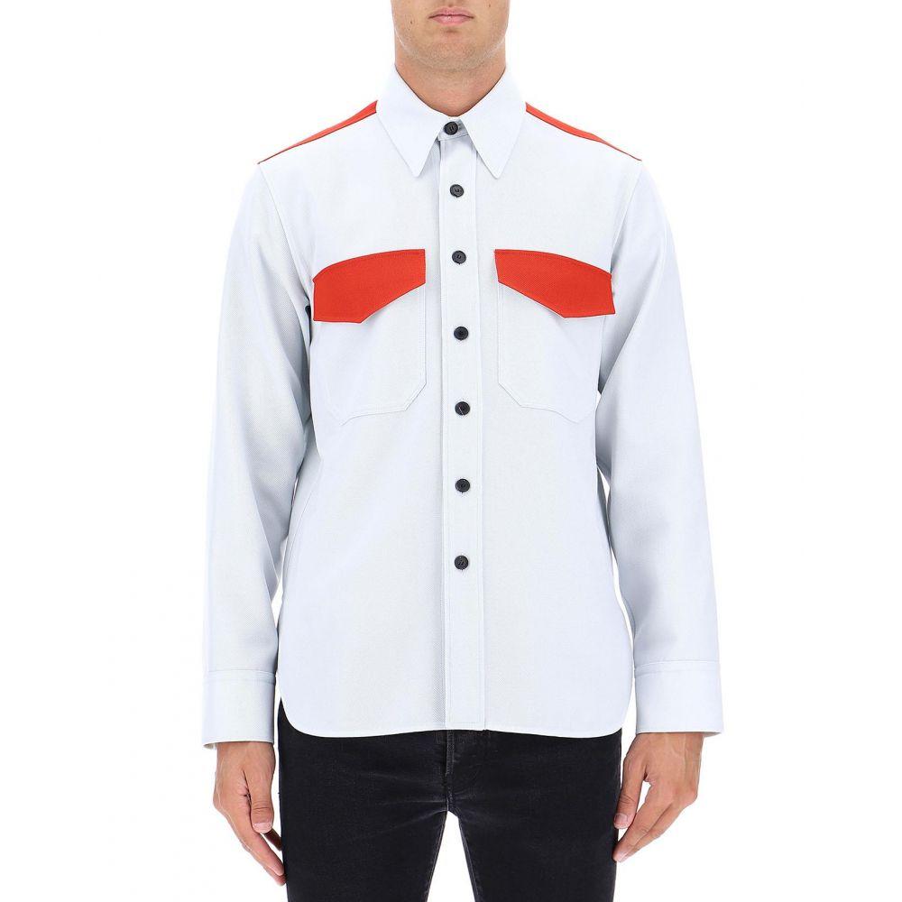 カルバンクライン Calvin Klein 205W39NYC メンズ トップス シャツ【Light blue wool shirt】Light blue