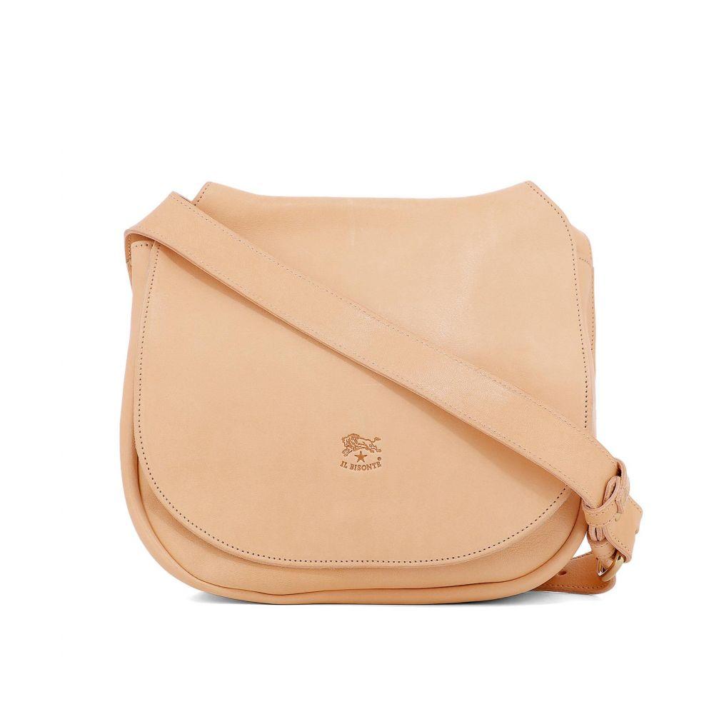 イルビゾンテ Il Bisonte レディース バッグ ショルダーバッグ【Pink leather shoulder bag】Pink