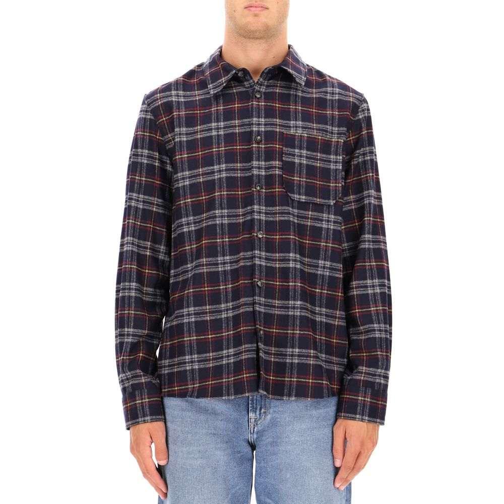 アーペーセー A.P.C. メンズ トップス シャツ【Multicolor wool shirt】Multicolor