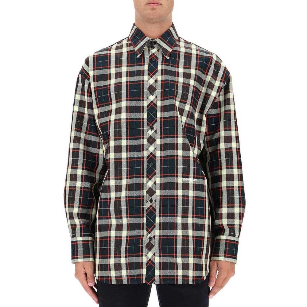 カルバンクライン Calvin Klein 205W39NYC メンズ トップス シャツ【Green polyester shirt】Green