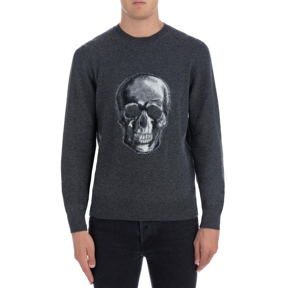 アレキサンダー マックイーン Alexander McQueen メンズ トップス ニット・セーター【Grey wool sweater】Grey