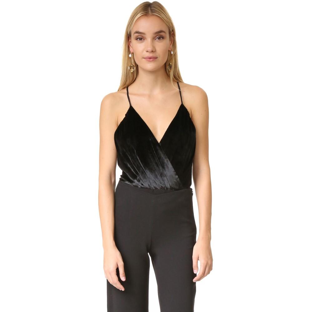 アリス アンド オリビア alice + olivia レディース トップス ボディスーツ【Ballerina Bodysuit】Black