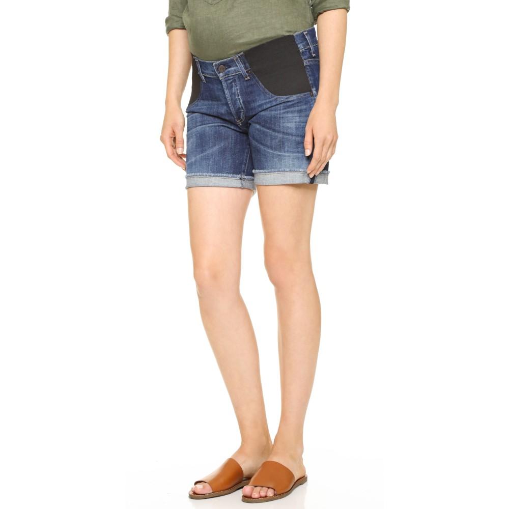 シチズンズ オブ ヒューマニティ Citizens of Humanity レディース ボトムス ショートパンツ【Skyler Loose Maternity Shorts】Blue Ridge
