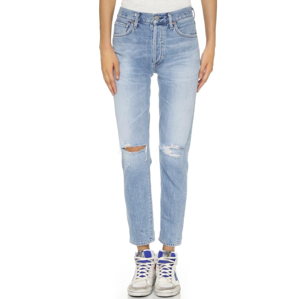 シチズンズ オブ ヒューマニティ Citizens of Humanity レディース ボトムス ジーンズ【Liya High Rise Classic Fit Jeans】TORN