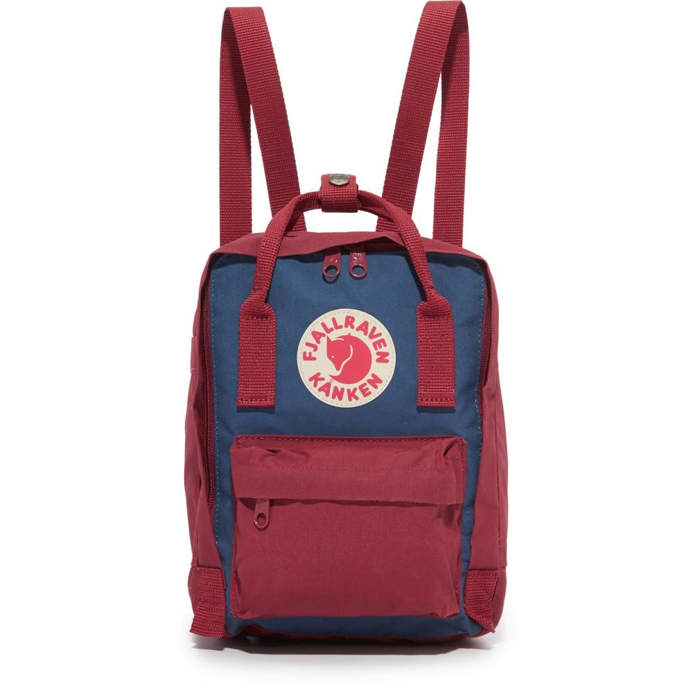 フェールラーベン Fjallraven レディース バッグ バックパック・リュック【Kanken Mini Backpack】Royal Blue/Ox Red