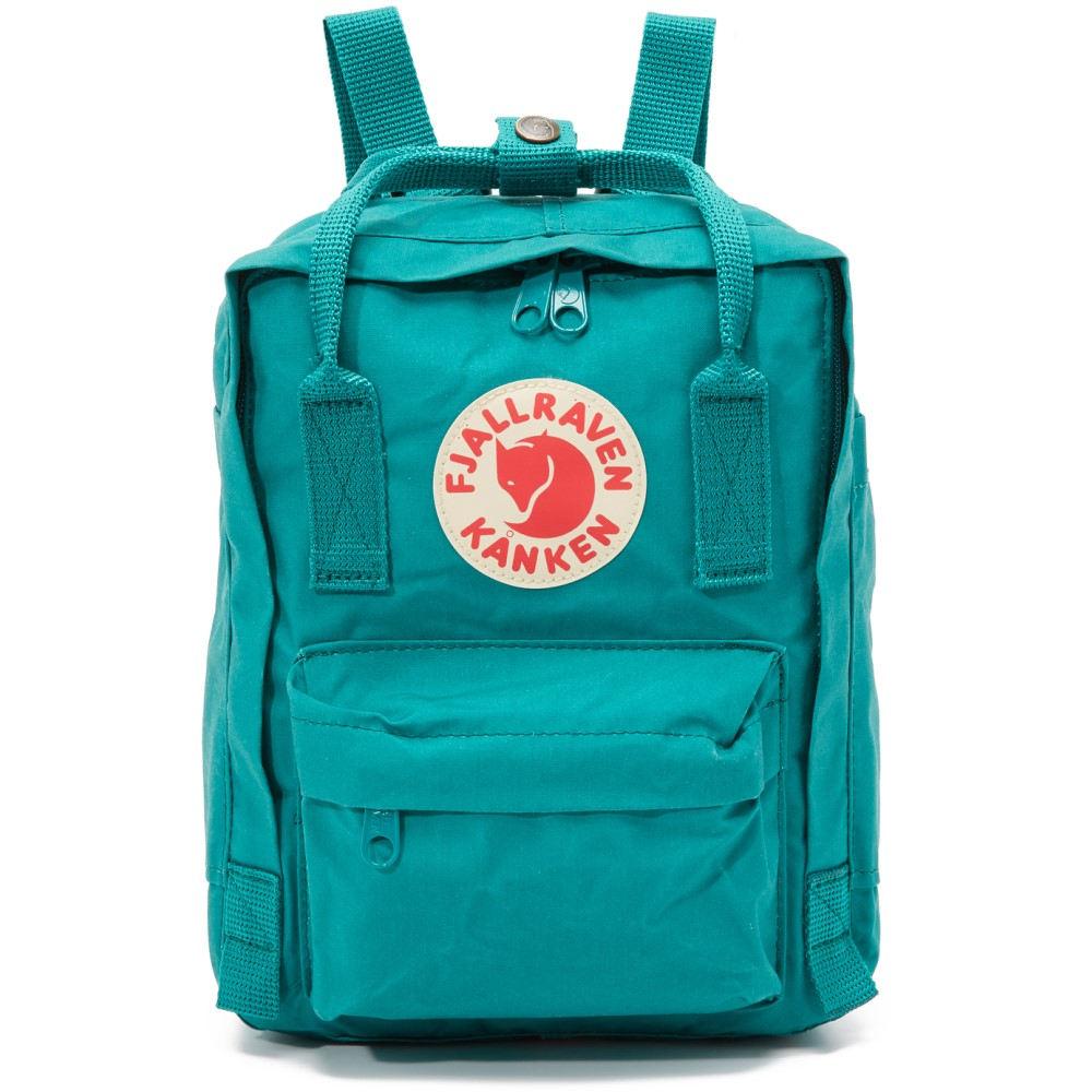 フェールラーベン Fjallraven レディース バッグ バックパック・リュック【Kanken Mini Backpack】Ocean Green
