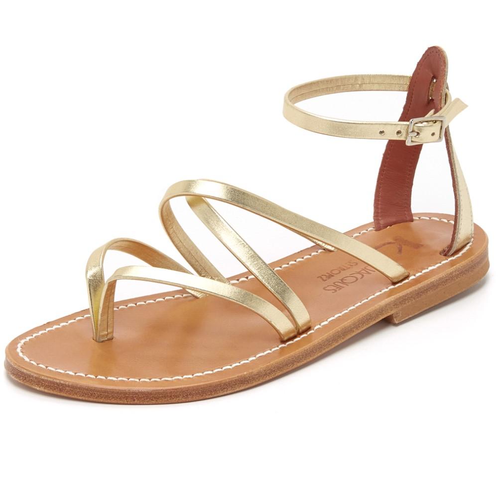 カージャック K. Jacques レディース シューズ・靴 サンダル【Epicure Sandals】Lame Platine